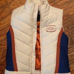 Women's small Harley-Davidson vintage stripe vest